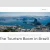 Mariana Pinheiro fala sobre o crescimento do turismo no Brasil