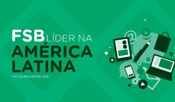 FSB é líder na América Latina e 33ª maior do mundo no setor de PR