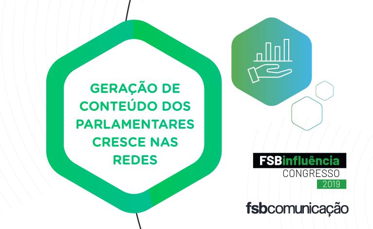 Ranking FSB Influência Congresso aponta importância dada por deputados e senadores às redes sociais com crescimento do volume de postagens