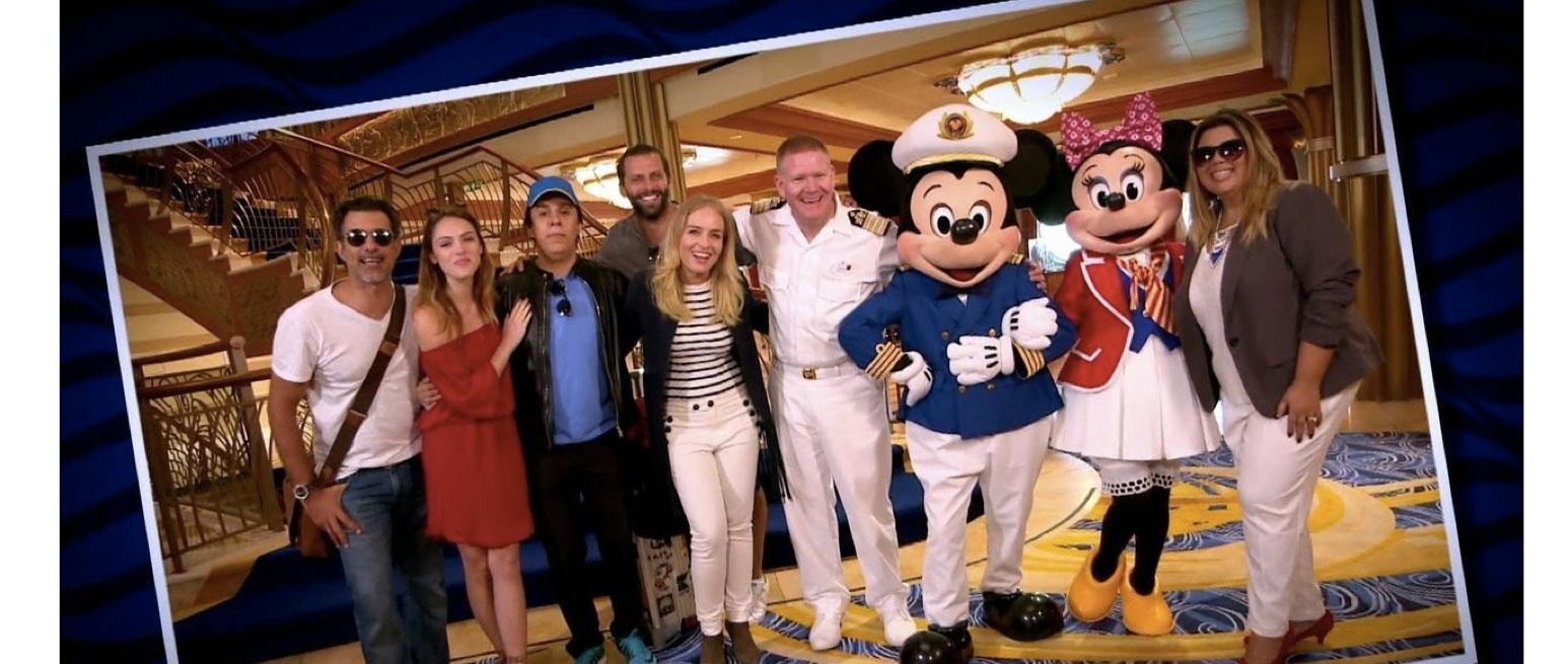 """""""Estrelas"""" na Disney"""